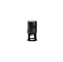 "TRODAT 46130 Self-Inking Stamp Plus Dater - 1 3/16"" Diameter"