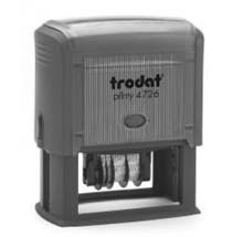 "TRODAT 4726 Self-Inking Dater 1 1/2"" x 3"""