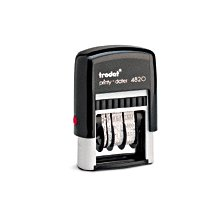 "TRODAT 4820 Self-Inking Dater (5/32"" imprint height)"
