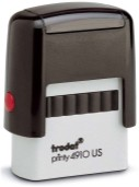 "TRODAT 4911 Self-Inking Stamp - 9/16"" x 1 1/2"""