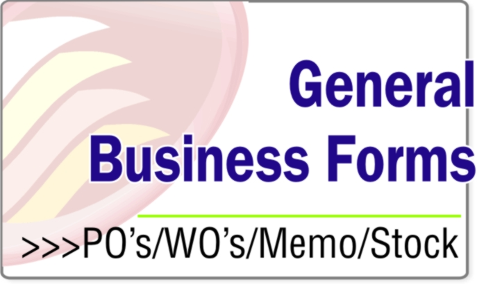 General Business Forms