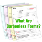 What Are Carbonless Forms?