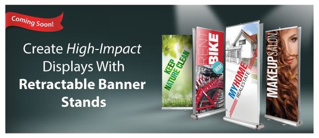 Displays with Retractable Banner Stands