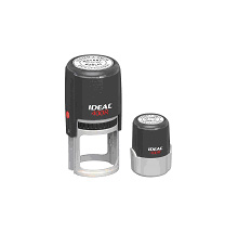 "Ideal 400R Self Inking Notary Stamp - 1 5/8"" Diameter"